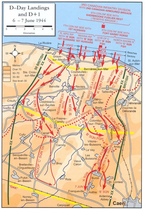 juno D-Day Landings