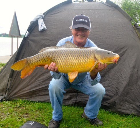 20 pound carp from the Kawarthas