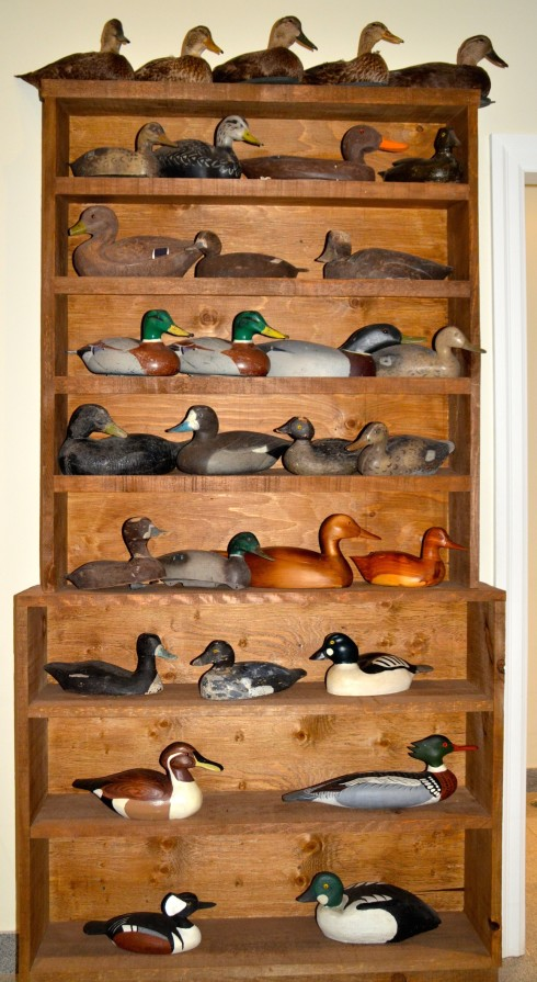41 Decoys at the Kawarthas Hunting and Fishing Centre