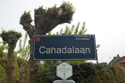 Canada Lane, Passchaendale battlefield