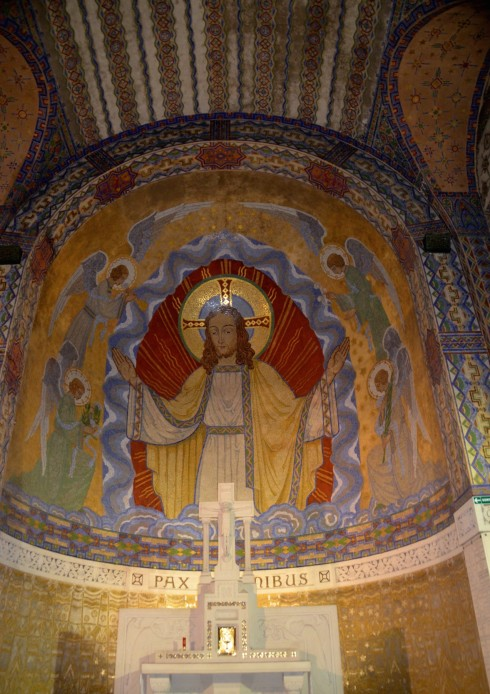 Interior, Notre Dame de Lorette