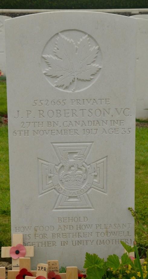 J.P.Robertson V.C.
