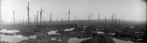 Passchendaele battlefield