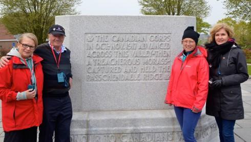 Passchendaele Ridge Monument, Passchaendale battlefield