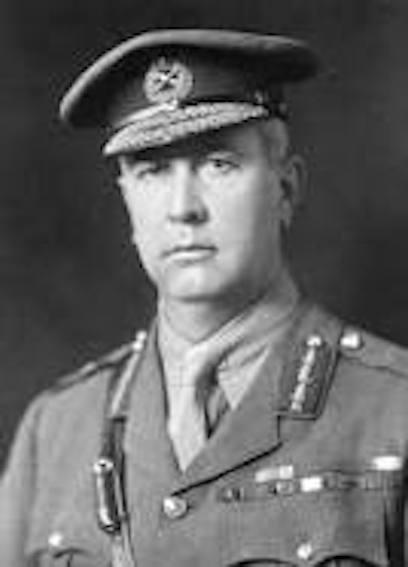Canadian Commander at Passchaendale Battlefield