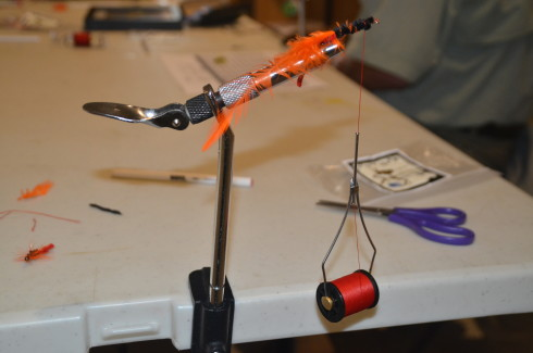 Tying a Woolly Bugger