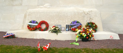 Tomb of the Unknown Soldier, Vimy Ridge