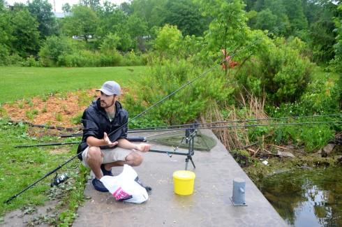 Will explains the art of carp fishing on the Kawarthas