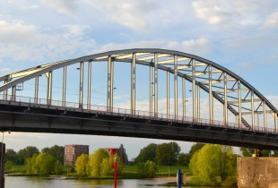 The Bridge too Far in Arnhem, Holland