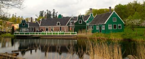 Across the water, Open Air Museum, Arnhem, Holland