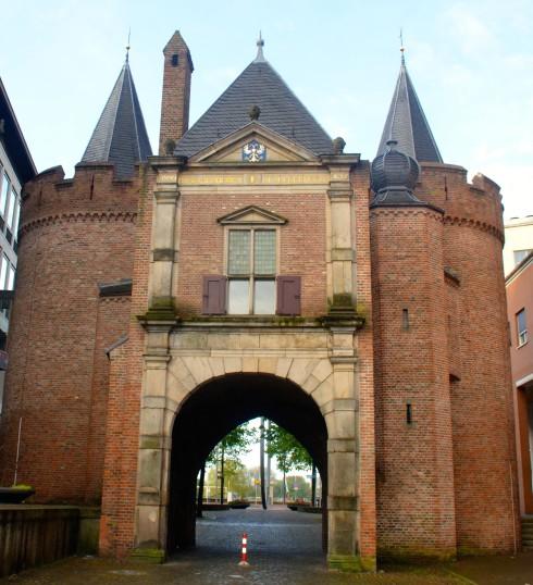 Old city gate to Arnhem