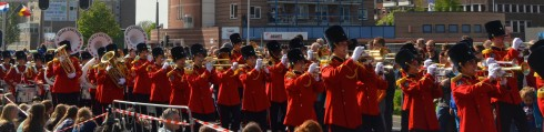 And the bands kept coming at Wageningen Liberation Parade