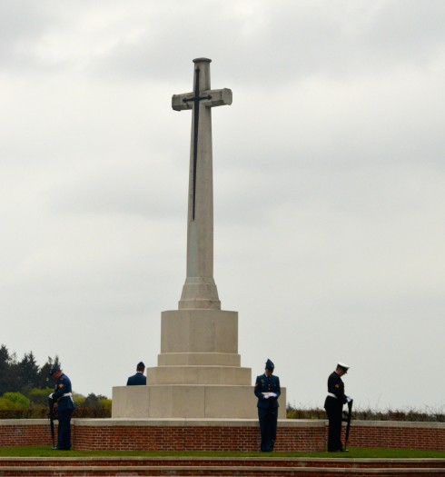 The Liberation of Holland ceremony at Groesbeek Cemetery