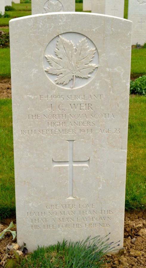 Sgt. John C. Weir