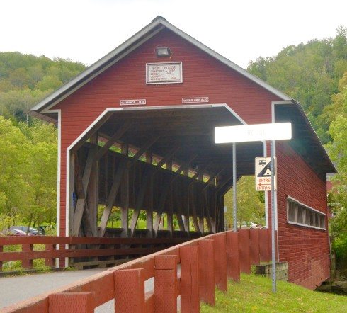Coaticook Gorge Covered Bridge