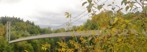 Coaticook Gorge Suspension Bridge