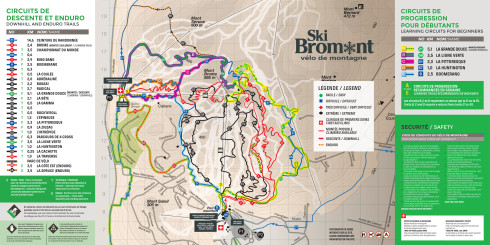 Ski Bromont bike trails