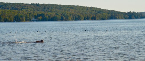 Swimming in Otter Lake