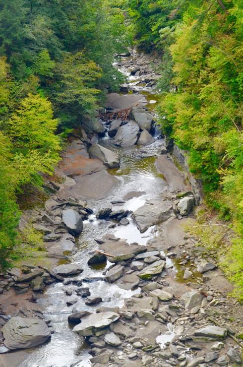 View of Coaticook Gorge