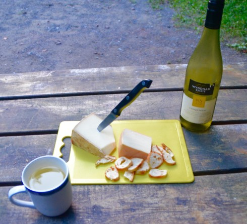Wine and Cheese at Yamaska