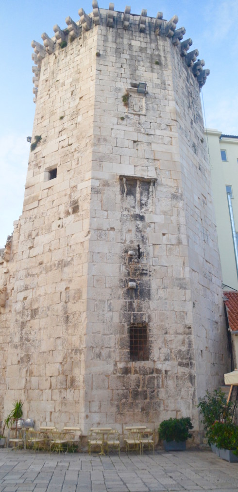 Original Tower of Diocletian's Palace