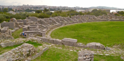 Ruins of Salona Amphitheatre
