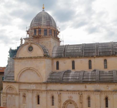 Sibenik Croatia St, James cathedral