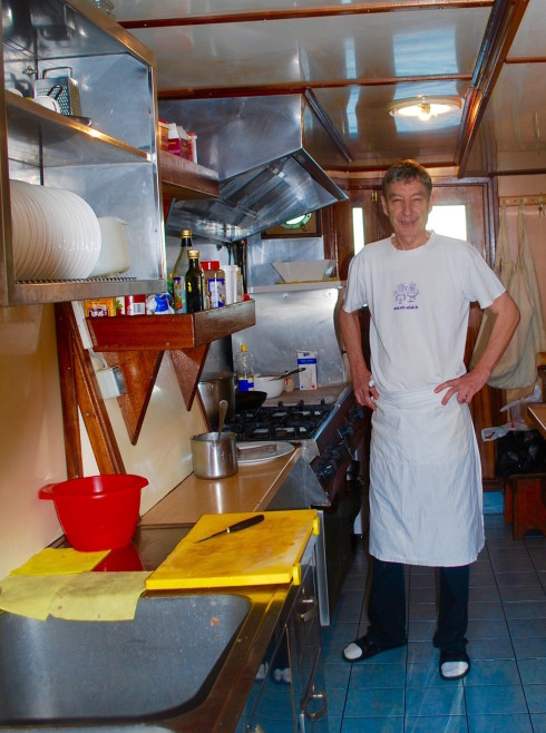 Ante, the Azimut cook