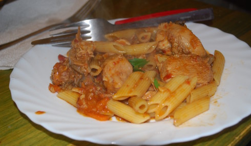 Chicken Pasta Stew