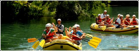 white water rafting Croatia