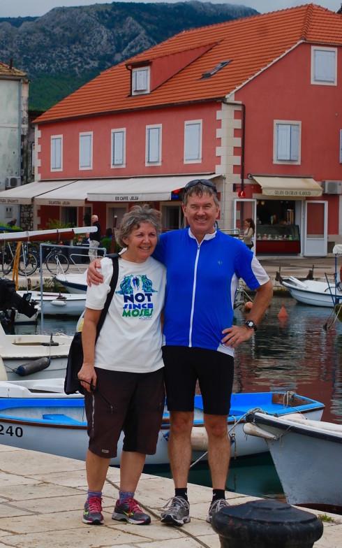 Gary McLaughlin and Cindy Hooper in Jelsa