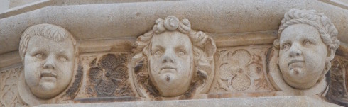 Sculpted Heads, St. James Cathedral, Sibenik
