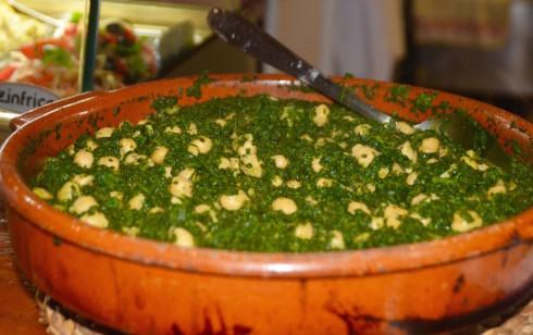 Spinach and Garbanzos, El Nino