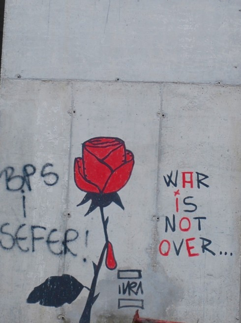War is not over, Bosnia and Herzegovina