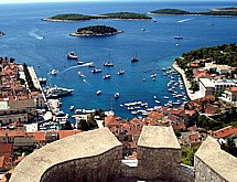 View from Hvar castle