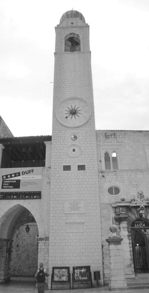 Dubrovnik Bell Tower