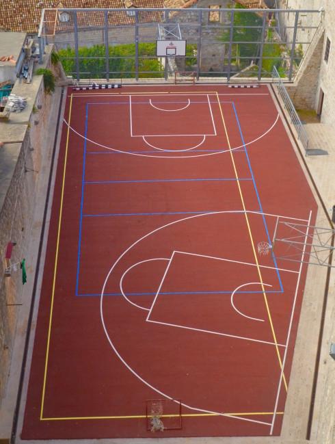 Dubrovnik Basketball Court
