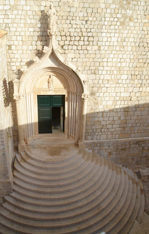Dominican monastery staircase