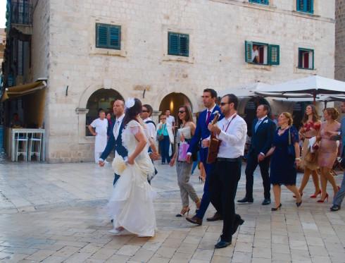 Dubrovnik Wedding Party