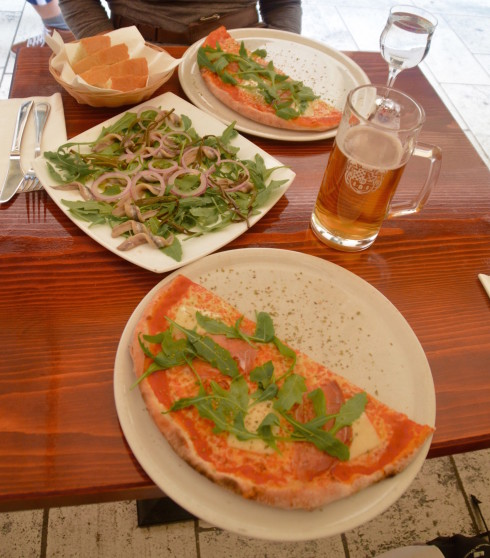 Lunch at Pizzeria Storia