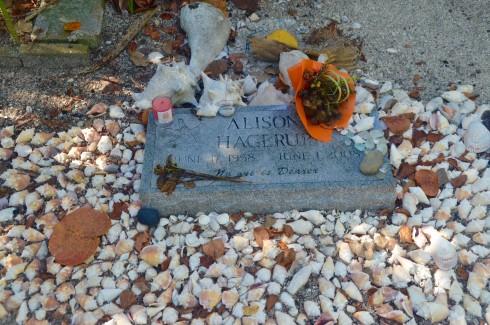 Alison Hagerup, Captiva Cemetery