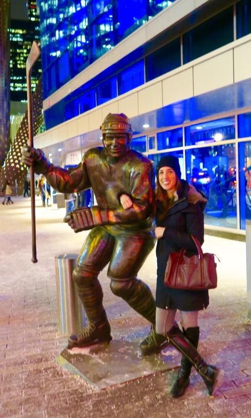 Mats Sundin statue, Air Canada Centre