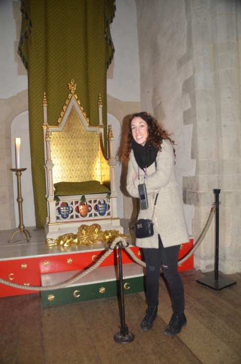 Tower of London - Edward's throne