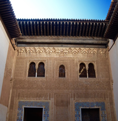 Comares Palace entrance, Alhambra Spain