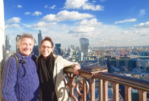 Photo on top of St. Paul's Cathedral