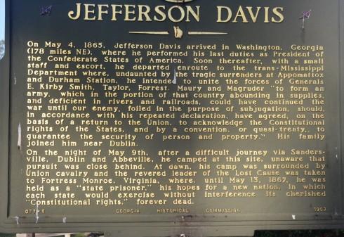 Story of the Capture of Jefferson Davis