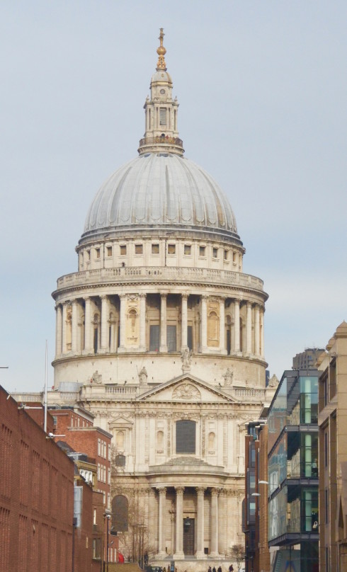 View of St. Paul's Cathedral
