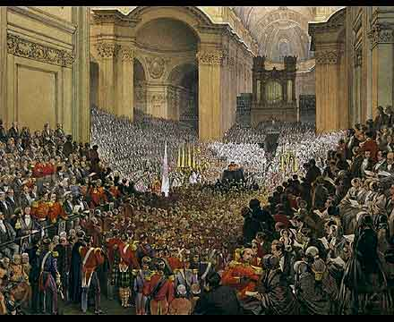 Wellington's Funeral in St. Paul's Cathedral