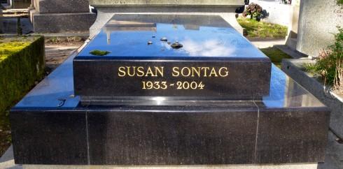 Susan Sontag - Montparnasse Cemetery