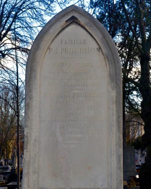Pierre-Joseph Proudhon - Montparnasse Cemetery